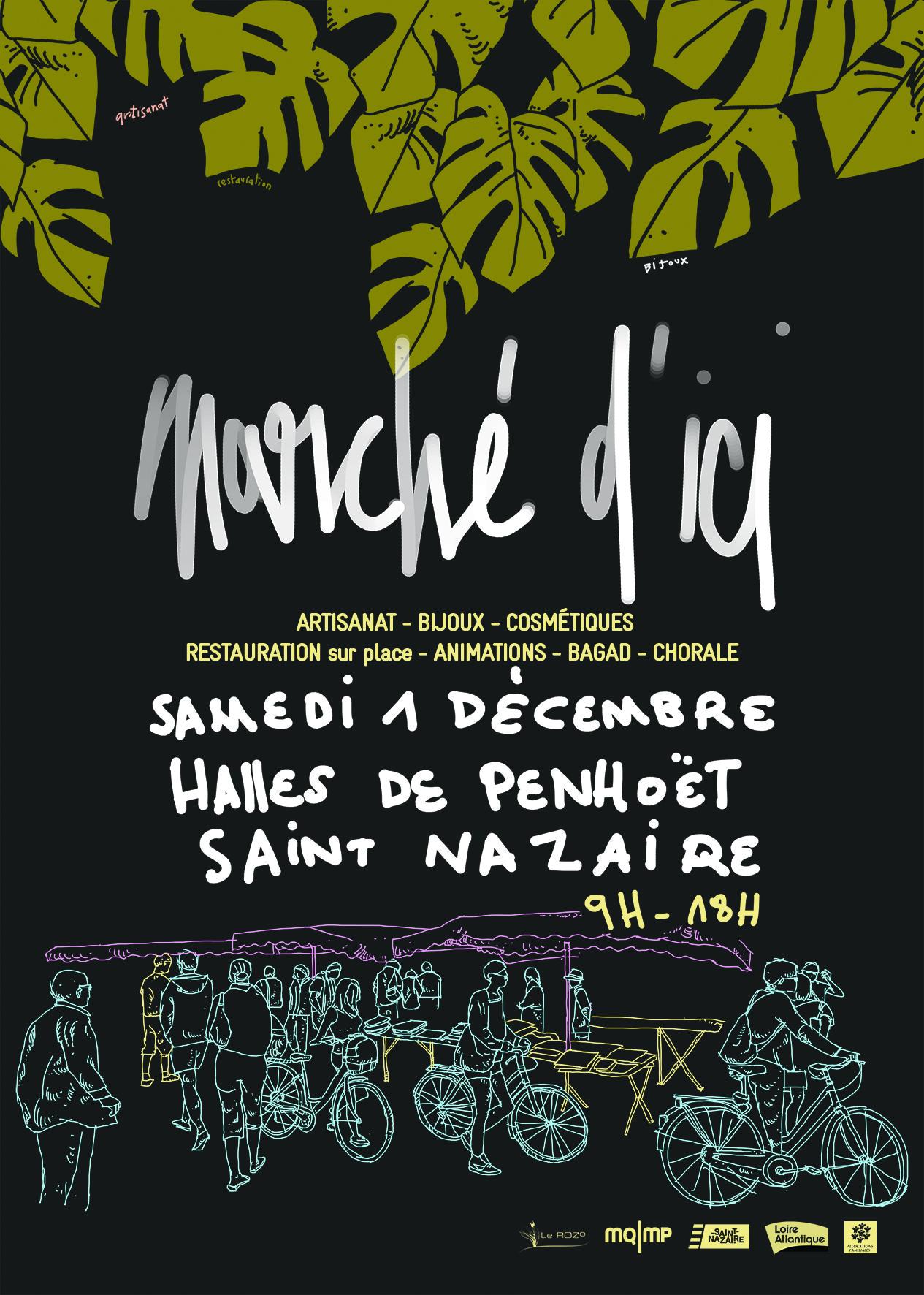 Le Rozo fait son marché– 01/12/18 aux Halles de Penhoet